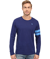 U.S. POLO ASSN. - Long Sleeve Crew Neck Knit Shirt