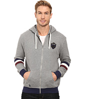 U.S. POLO ASSN. - French Terry Crest Logo Hooded Jacket