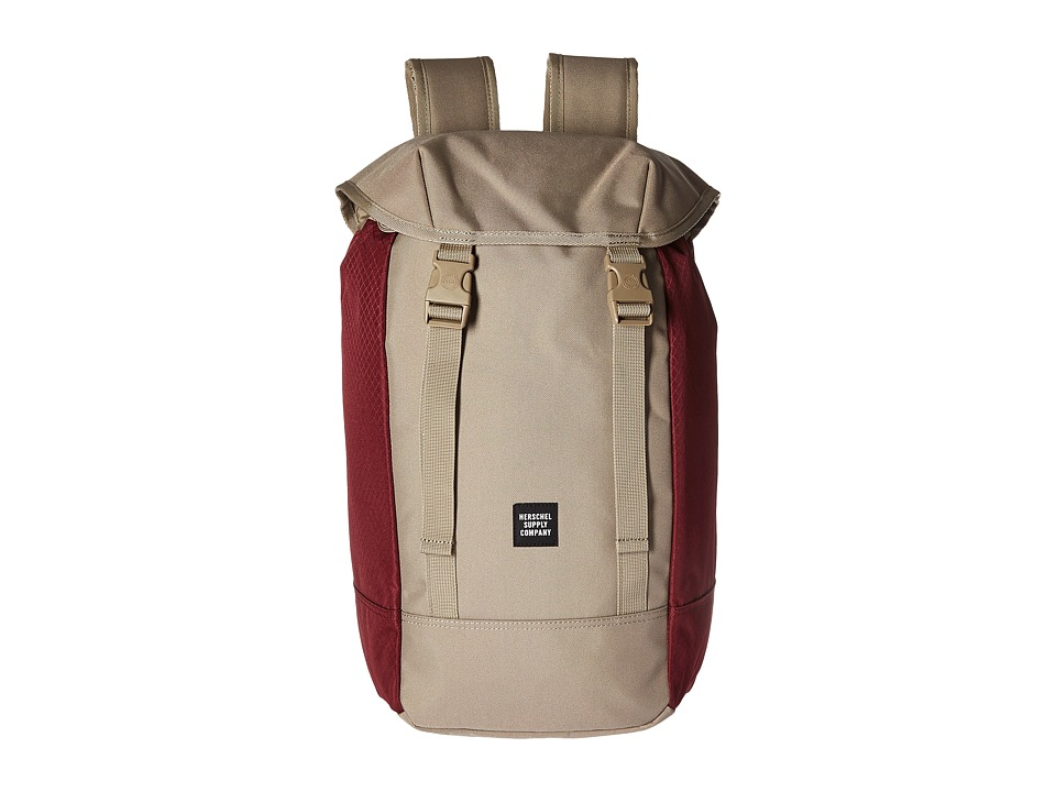Herschel Supply Co. Iona (Brindle/Windsor Wine) Backpack Bags