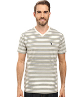 U.S. POLO ASSN. - Multi Stripe V-Neck T-Shirt