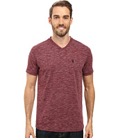 U.S. POLO ASSN. - Space Dyed V-Neck T-Shirt