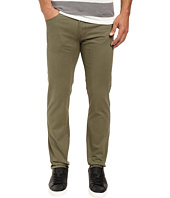 U.S. POLO ASSN. - Corduroy Skinny Fit Five-Pocket Jeans in Olive Dusk