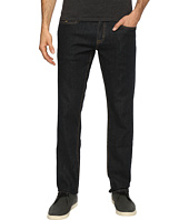 U.S. POLO ASSN. - Slim Straight Stretch Denim Five-Pocket Jeans in Blue