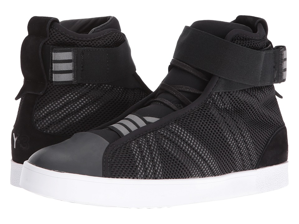 adidas Y-3 by Yohji Yamamoto Loop Court Hi (Core Black/Core Black/White) Women