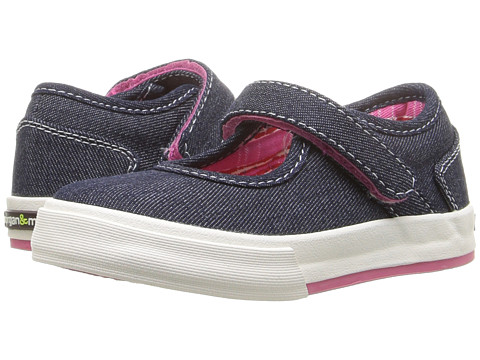 Morgan&Milo Kids Maddie Mary Jane II (Toddler/Little Kid) - Denim