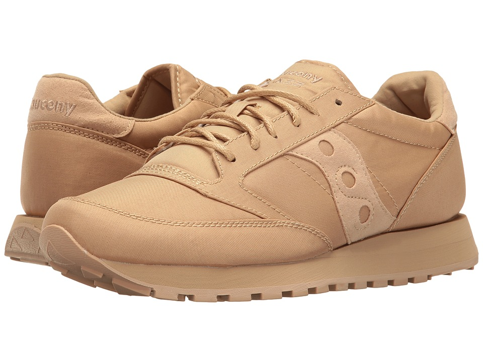 Saucony Originals - Jazz O Mono (Tan) Mens Classic Shoes