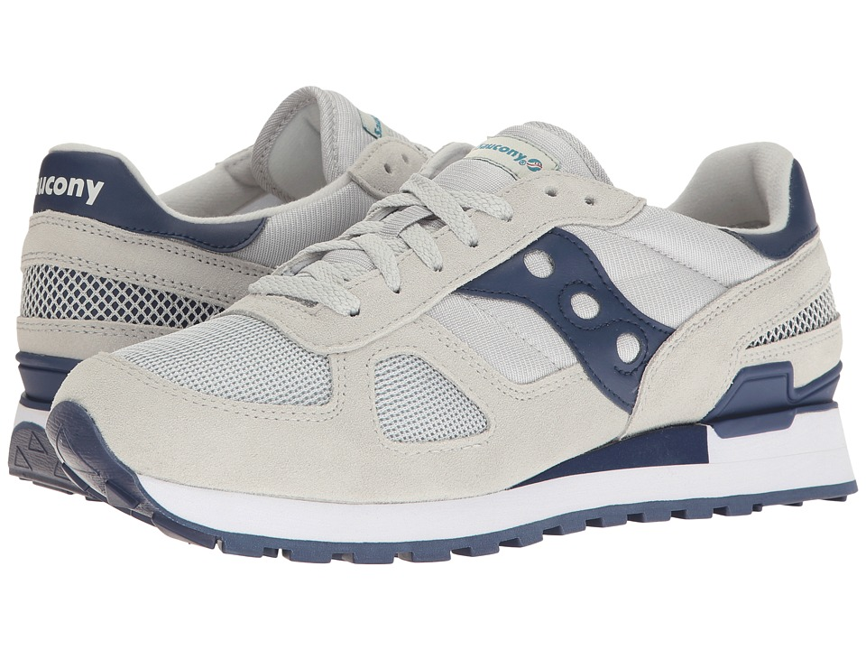 Saucony Originals - Shadow Original (Grey/Navy 1) Mens Classic Shoes