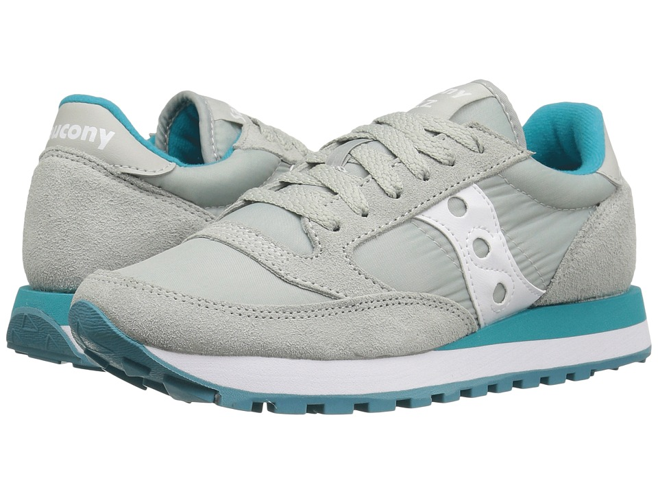 Saucony Originals Jazz Original (Light Grey/Green) Women's