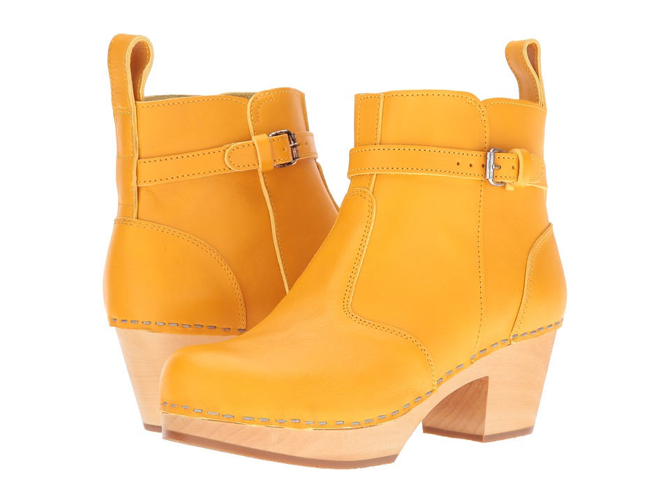 Swedish Hasbeens Jodhpur (Warm Yellow) Women