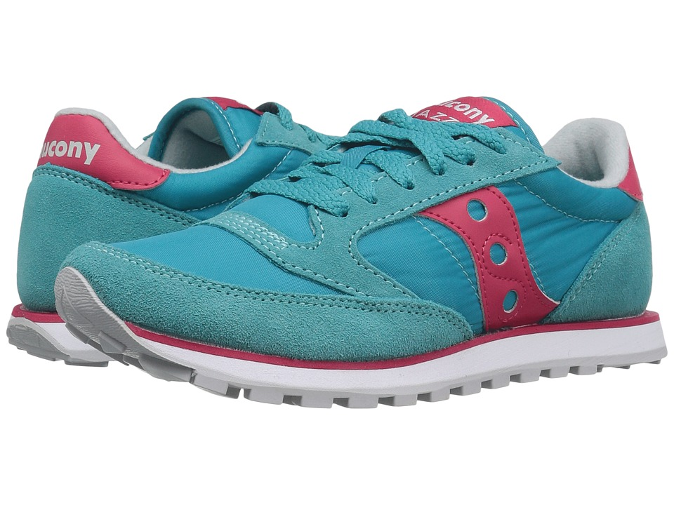 Saucony Originals Jazz Low Pro (Turquoise/Red) Women's