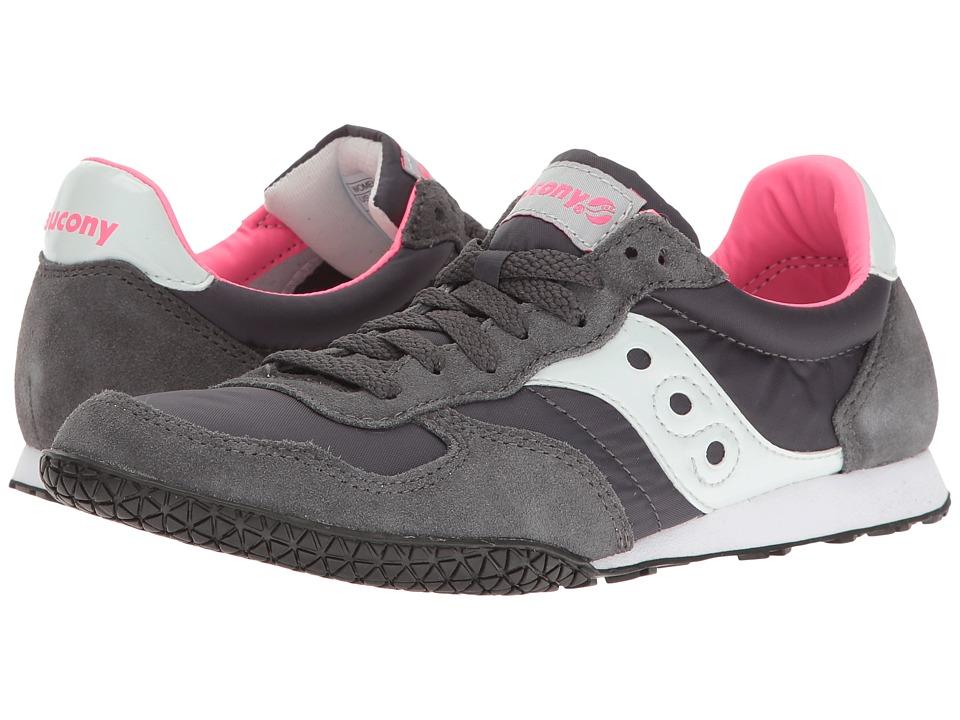 Saucony Originals Bullet (Charcoal/Pink 2) Women's Classic Shoes