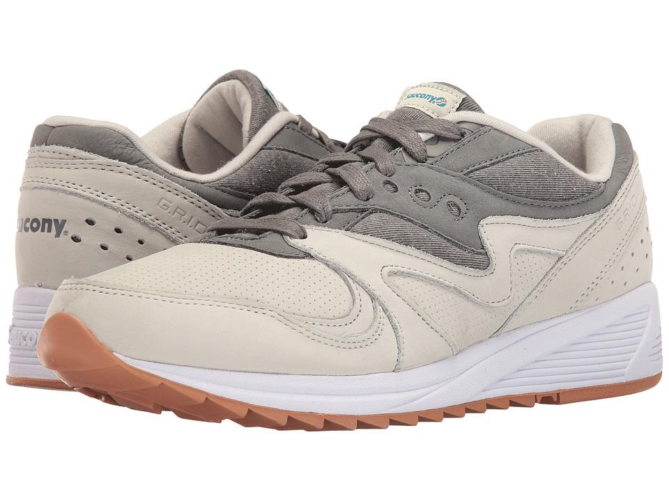 Saucony Originals - Grid 8000 (Light Grey/Dark Grey) Mens Classic Shoes