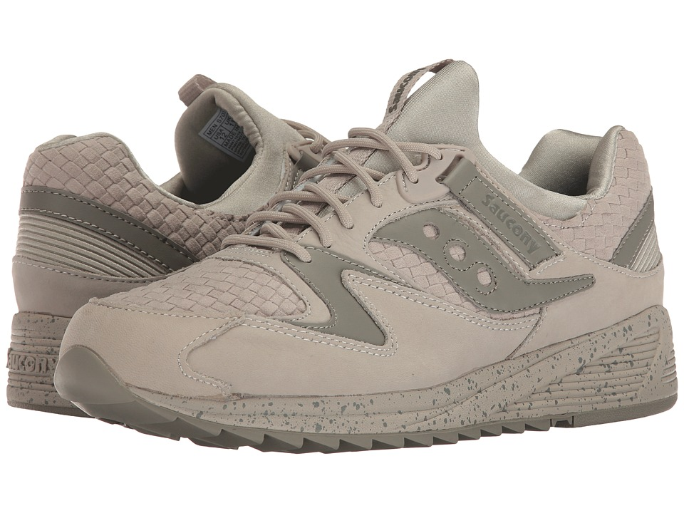 Saucony Originals - Grid 8500 Weave (Grey) Mens Classic Shoes