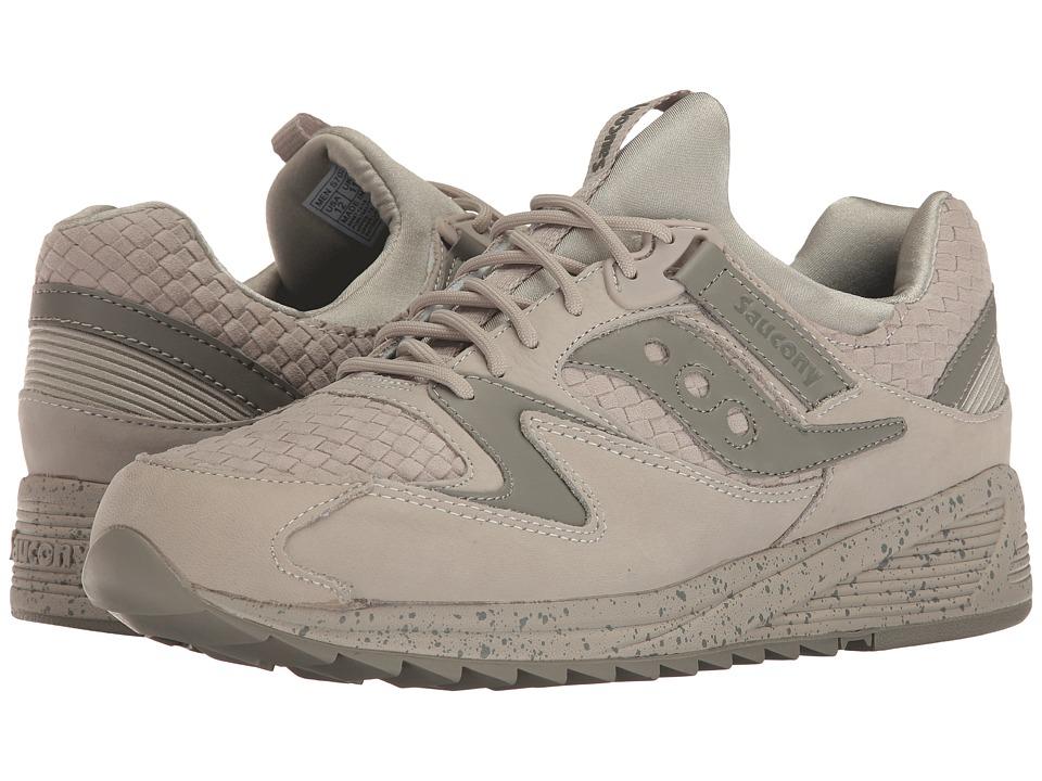 Saucony Originals - Grid 8500 Weave (Grey) Mens Classic Shoes