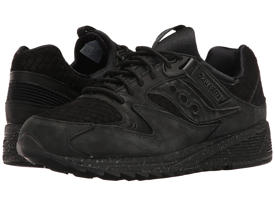 Saucony Originals - Grid 8500 Weave (Black) Mens Classic Shoes
