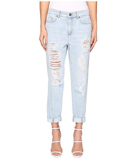 Versace Jeans Distress Boyfriend Jeans
