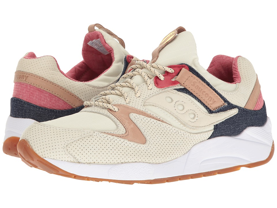 Saucony Originals - Grid 9000 (Light Tan) Mens Classic Shoes