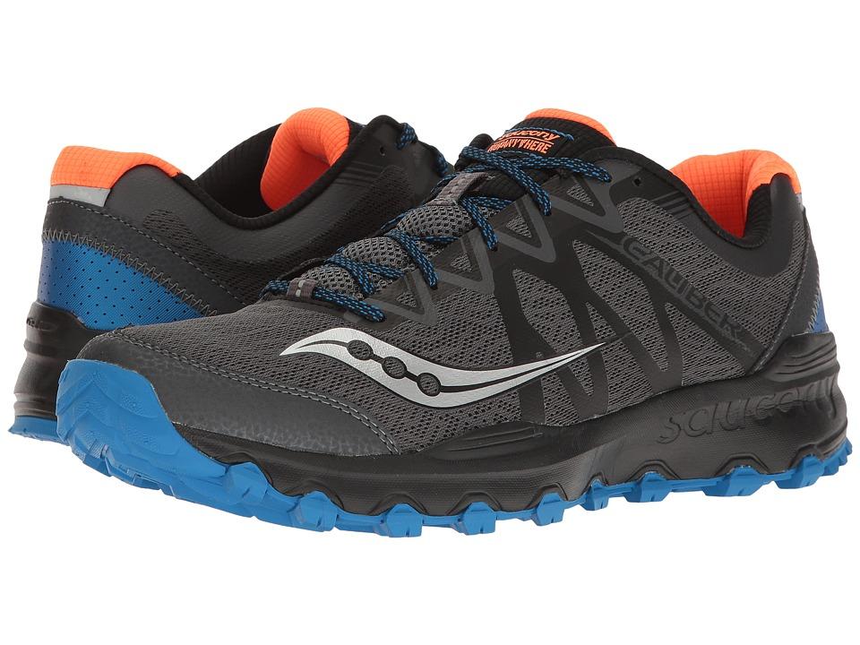 Saucony Caliber Trail (Grey/Blue/Orange) Men