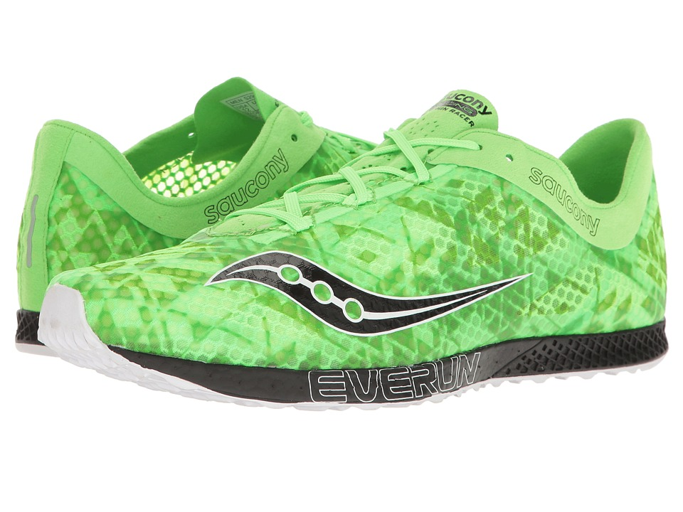 Saucony Endorphin Racer 2 (Slime/Black) Men's Shoes