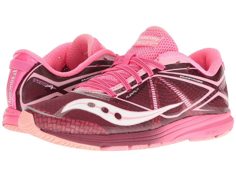 Saucony Type A (Pink/Purple) Women's Shoes