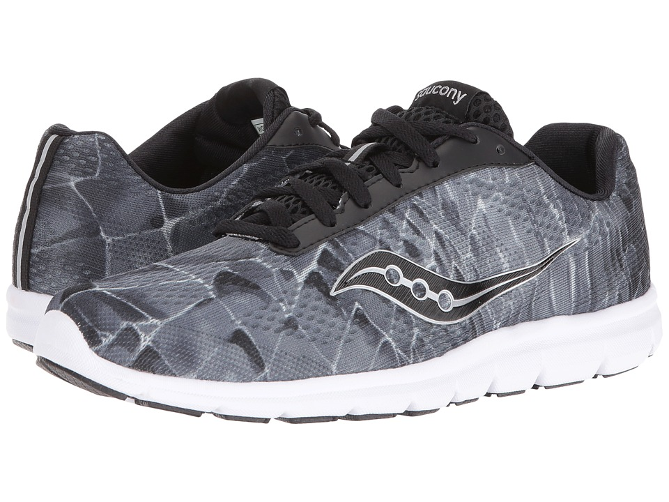 Saucony Ideal (Black/Grey/Print) Women