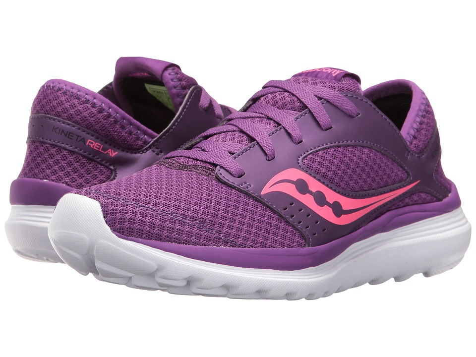 Saucony Kineta Relay (Purple/Pink) Women