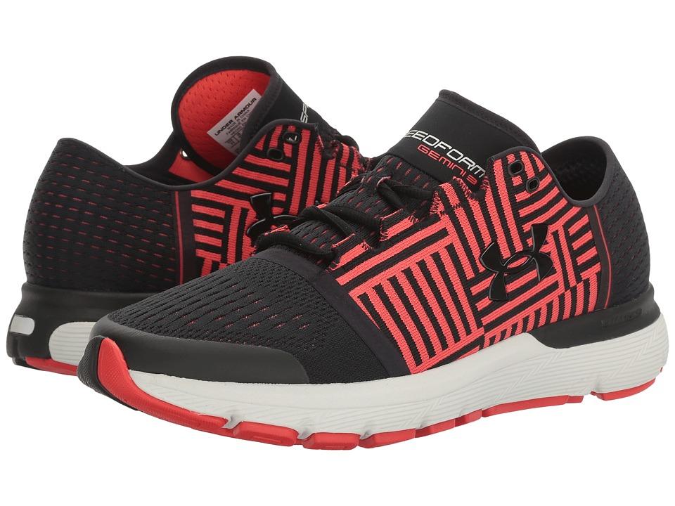 Under Armour - UA SpeedForm(r) Gemini 3 (Black/Pomegranate/Black) Mens Running Shoes