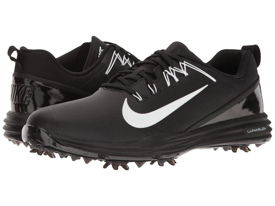 Nike Golf Lunar Command 2 (Black/White/Black) Men