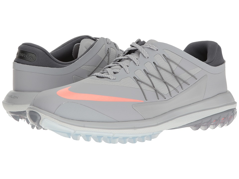 Nike Golf Lunar Control Vapor (Wolf Grey/Max Orange/Pure Platinum/Wolf Grey) Men