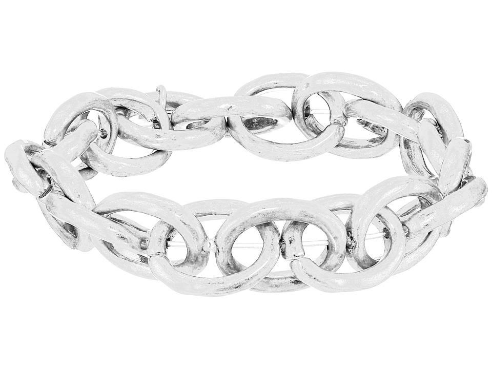 The Sak - Link Stretch Bracelet (Silver) Bracelet