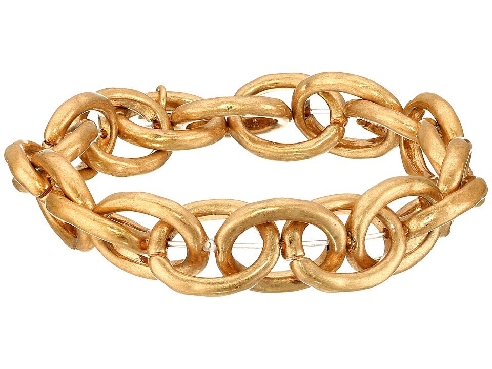 The Sak - Link Stretch Bracelet (Gold) Bracelet