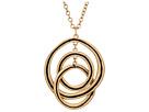 The Sak Ribbed Orbit Pendant Necklace 28
