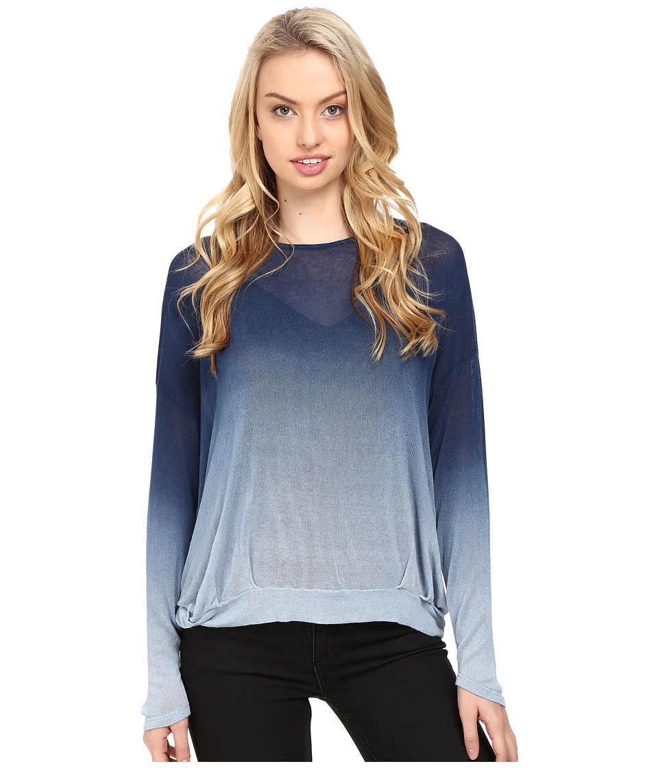 Young Fabulous & Broke Renee Sweater (Blue Ombre) Women