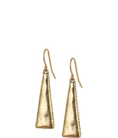 The Sak - Mini Metal Paddle Drop Earrings