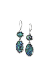 The Sak - Double Stone Drop Earrings