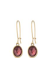 The Sak - Color Hoop Drop Earrings