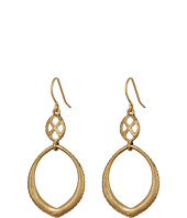 The Sak - Teardrop Double Drop Earrings