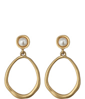 The Sak - Large Pearl Doorknocker Earrings