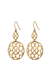 The Sak - Pierced Double Drop Earrings