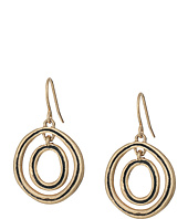 The Sak - Ribbed Orbit Drop Earrings