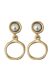 The Sak - Small Pearl Doorknocker Earrings