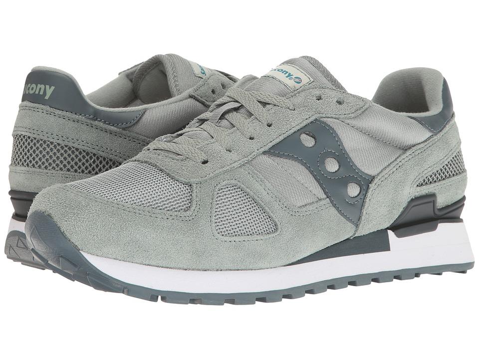 Saucony Originals - Shadow Original (Green/Charcoal) Mens Classic Shoes