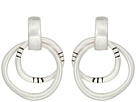 The Sak Double Ring Drop Earrings