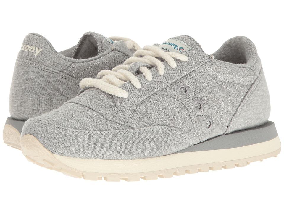 Saucony Originals - Jazz O Cozy (Grey) Womens Classic Shoes