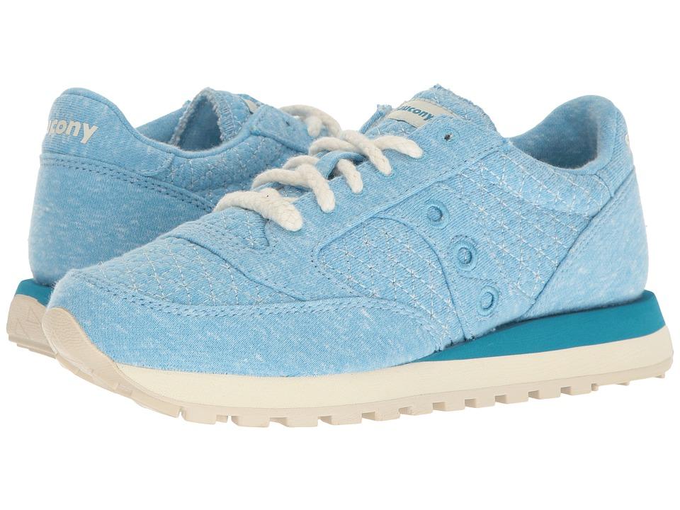 Saucony Originals - Jazz O Cozy (Light Blue) Womens Classic Shoes
