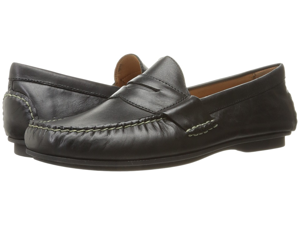 Polo Ralph Lauren Abner (Black Smooth Oil Leather) Men