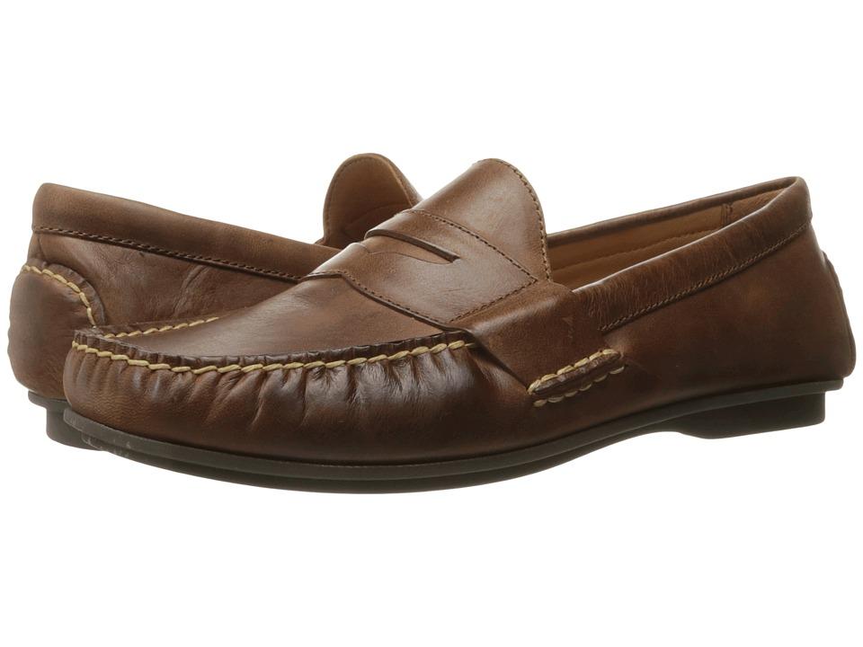 Polo Ralph Lauren Abner (Light Tan Smooth Oil Leather) Men