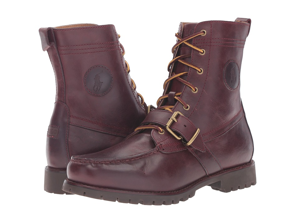 Polo Ralph Lauren - Ranger (Oxblood Smooth Oil Leather) Men
