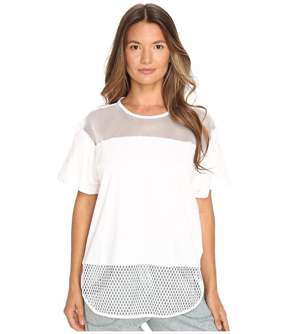 adidas by Stella McCartney - Essentials Mesh Tee AX7108 (White) Women