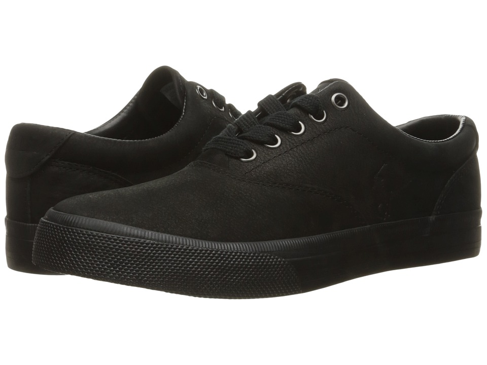 Polo Ralph Lauren Vaughn (Black Silky Nubuck) Men